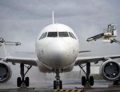 В аэропорту Симферополя из-за тумана задерживается прилет и вылет десятка рейсов