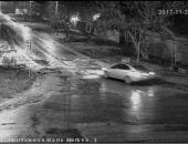 Розыск: МВД разыскивает поджигателя автомобиля в Симферопольском районе