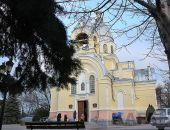 Навечерие Рождества Христова в Казанском соборе Феодосии