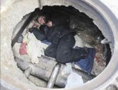 В Приморском загорелся колодец теплотрассы