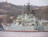 В Эгейском море сухогруз при обгоне БДК «Ямал», который следовал в Крым, совершил с ним столкновение (фото)