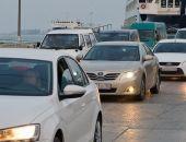Керченская переправа стоит из-за погоды, скопилось более 900 автомобилей