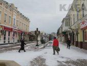 Феодосия: второе пришествие снега в новом году:фоторепортаж