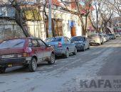 Транспортный коллапс в Феодосии:фоторепортаж