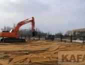 С пляжа пансионата «Украина» все-таки воруют песок