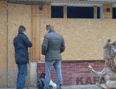 В Феодосии в захваченном кафе «Джокер» украли все имущество (видео)