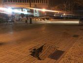 Власти столицы Крыма пообещала в течение семи дней заделать провал в центре города