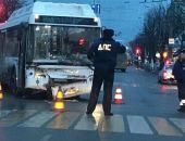В столице Крыма сегодня очередное ДТП с участием нового автобуса ЛиАЗ