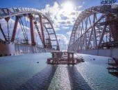 Началось сооружение морских пролетов Крымского моста под железную дорогу