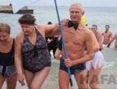 В Феодосии провели очередной всекрымский заплыв моржей (видео)