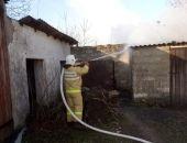 В Орджоникидзе за сутки случилось два пожара (фото)