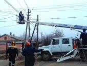 Из-за порывистого ветра в Крыму без электроснабжения остались жители десятка сёл в четырёх районах