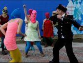 В Крыму между казаками и Pussy Riot случился конфликт