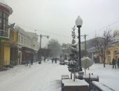 За сутки в Симферополе выпало 14 сантиметров снега