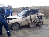 В Крыму на трассе Феодосия – Симферополь столкнулись два авто, пострадали 4 человека (фото)