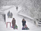 На Москву обрушился новый «снегопад века»