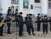 В Феодосии прошел концерт «В городском саду играет духовой оркестр» (видео)