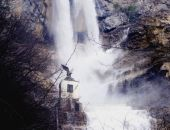 В Крыму разбушевался водопад Учан-Су (видео)