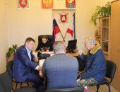 Руководители ОМВД России по г.Феодосия продолжает практику выездных приемов граждан