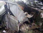 В Крыму на трассе Ялта – Симферополь разбился КамАЗ, водитель погиб (фото)