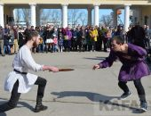 Феодосийские рыцари сразились в честь милых дам (видео)