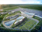 Привокзальная площадь нового терминала аэропорта Симферополь почти готова