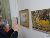В галерее Айвазовского показали весеннюю выставку и дали концерт (видео):фоторепортаж