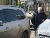 Сегодня в Феодосии в ДТП  в центре пострадал водитель (видео)