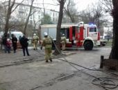 На пожаре в Феодосии спасли мужчину