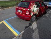 На крымских дорогах появится желто-синяя разметка