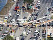 В Майями обрушился только что построенный пешеходный мост, есть пострадавшие