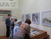 В галерее Айвазовского открылась выставка «У родных берегов» :фоторепортаж