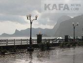 Сегодня ночью в Крыму ожидаются сильные дожди с мокрым снегом, гололедица, туман