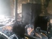 В селе Наниково сгорел частный жилой дом (фото)