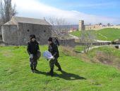 Накануне Вербного воскресенья кадеты убрали территорию вокруг Иверского Храма