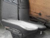 В столице Крыма сняли с рейса маршрутку, курсирующую со сломанными сиденьями (фото)
