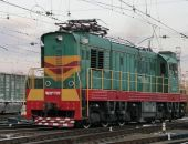В Крыму сошел с рельсов маневровый локомотив