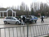 Сегодня в Феодосии около 15:00 в районе Техникума произошло ДТП
