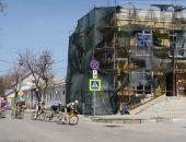 В Феодосии сегодня состоялись соревнования на Кубок России по велоспорту на шоссе