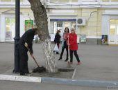 Вчера, в пятницу, в Феодосии прошел всекрымский субботник