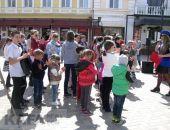 В Феодосии прошел детский праздник «Безопасный город» (видео)