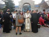 В Казанском соборе Феодосии прошло освящение куличей и пасхальных яиц
