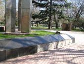 Вандалы сняли плитку с мемориала «Вечный огонь»