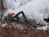 Вертолет Ми-8 упал на улицу Хабаровска, погибли шесть человек