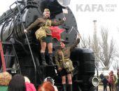 Феодосия встретила «Поезд Победы» (видео)