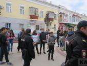 В центре Феодосии произошел конфликт поколений