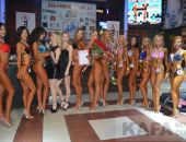 В Феодосии определили победительниц конкурса фитнес-бикини (видео)