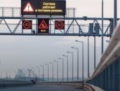На Крымском мосту устанавливают систему автоматического управления движением