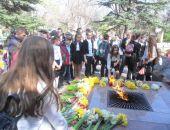 Школьники отметили 74-ю годовщину освобождения Феодосии