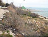 Берег в Приморском продолжает разрушаться
